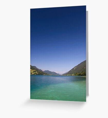 Low Moon Greeting Card
