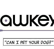 hawkeye can i pet your dog ver2 clint barton avengers by captainkittyspa