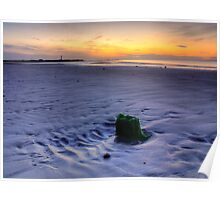 West Beach Lossiemouth Poster