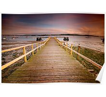 Wooden Jetty Poster