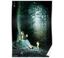 a peaceful place to read alice Poster