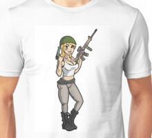 Army Pin up Unisex T-Shirt