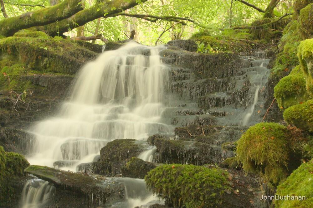 Aberfeldy Waterfall by JohnBuchanan