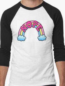 Nope Rainbow Men's Baseball ¾ T-Shirt