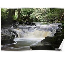 Waterfall - Ardeonaig, In the gorge Poster