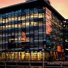 New BBC Building, Salford Quays, Manchester by Stan Owen