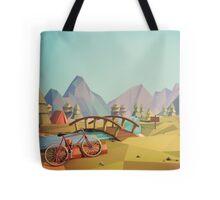 Geometric Enjoy Nature Tote Bag