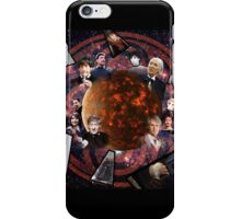 A Tribute to the Five Doctors iPhone Case/Skin
