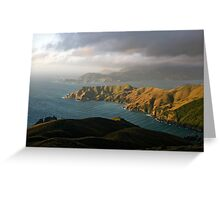 French Pass. Greeting Card