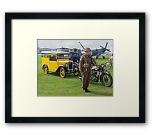 Who Do You Think You Are Kidding Mr. Hitler? Framed Print