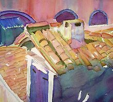 Venice Rooftop View by Christiane  Kingsley
