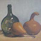 Cuyas y botella by MiguelNunez