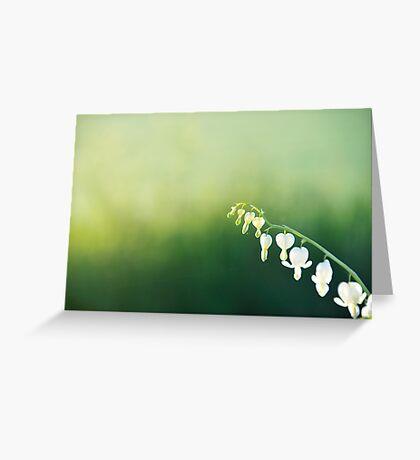 Green Morning Greeting Card