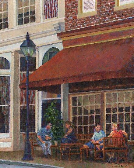 Corner Restaurant by Susan Savad