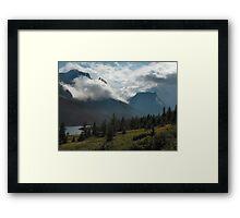 Glacier National Park, Montana, USA Framed Print