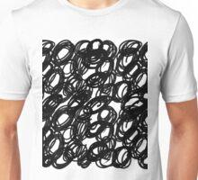 Inky Circle Pattern Unisex T-Shirt