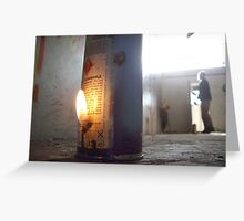 Inflammable Greeting Card