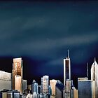 Chicago Skyline, Part Deux by Jayme Rutherford