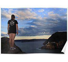 Majestic Newfoundland Poster