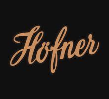 Vintage Hofner  Orange by matanga