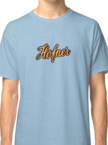 Vintage Hofner  Orange Classic T-Shirt