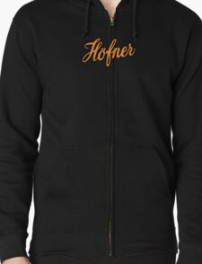 Vintage Hofner  Orange T-Shirt