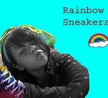 rainbow sneaker by flowflower
