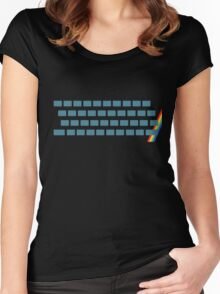 ZX Spectrum Women's Fitted Scoop T-Shirt