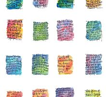 Verse Stickers by Bumble & Bristle