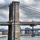 Brooklyn, Manhattan, Williamsburg by joan warburton