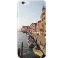 Venice in the sunset iPhone Case/Skin