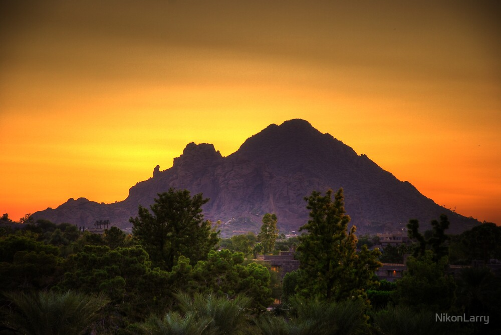 Camelback Sunrise by NikonLarry