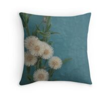 Fluffs Throw Pillow