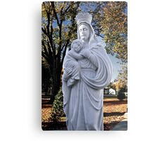 Mother Mary and Jesus Metal Print
