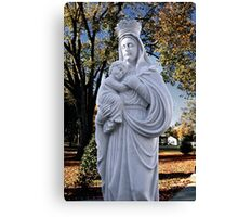 Mother Mary and Jesus Canvas Print