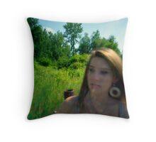 Sunflare Becca Throw Pillow