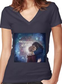 Bagginshield - My most precious Jewel Women's Fitted V-Neck T-Shirt