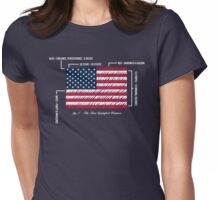 July 4th 1960 Womens Fitted T-Shirt