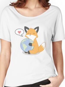 Firefox Love Women's Relaxed Fit T-Shirt