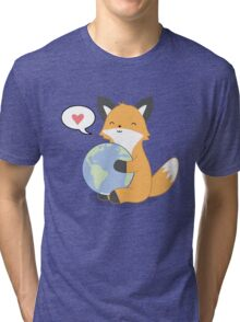 Firefox Love Tri-blend T-Shirt