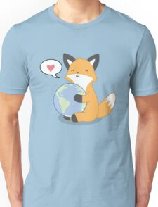Firefox Love Unisex T-Shirt