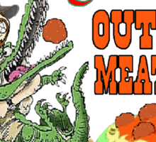 Outback Meatballs Sticker
