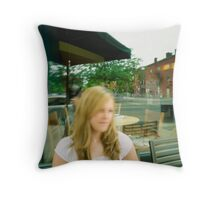 Starbucks Holly 1 Throw Pillow