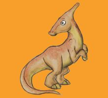 Parasaurolophus by Tanya  Beeson