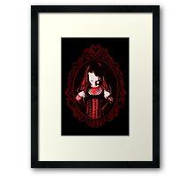 Gothic Cameo Framed Print