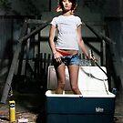White Trash Bath by stevenjayphoto