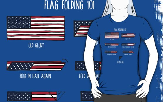 Flag Folding 101 by fishbiscuit