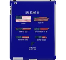 Flag Folding 101 iPad Case/Skin