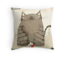 Mouse Hero Throw Pillow