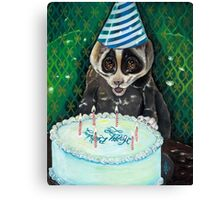 Slow Lori's Birthday Party Canvas Print